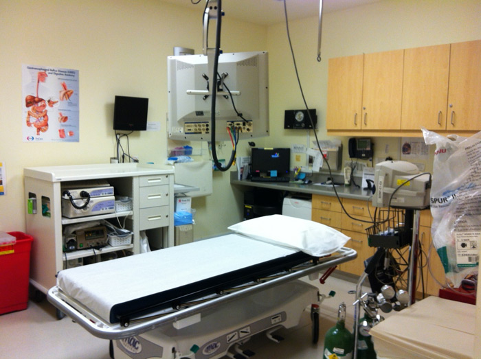 endoscopy procedure room