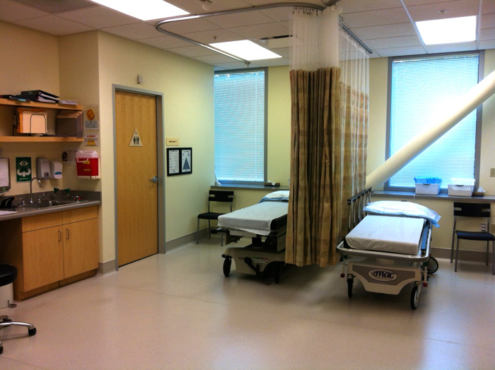 endoscopy recovery room