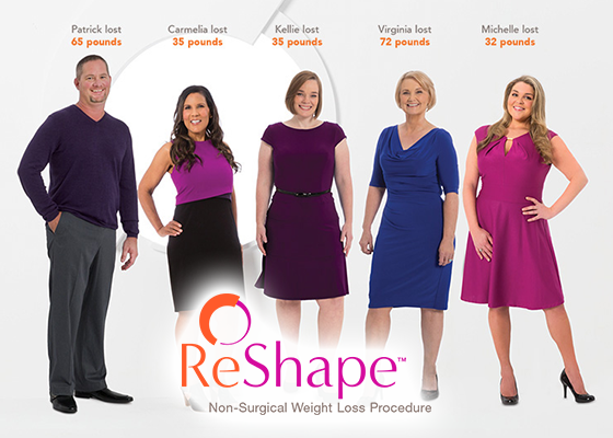 Reshape Non Surgical Weight Loss Mountain View Endoscopy Center